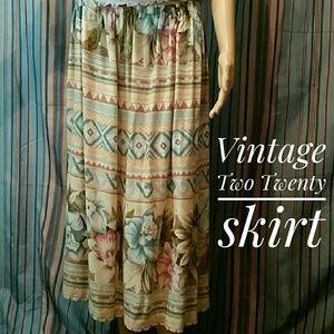 Vintage Two Twenty skirt